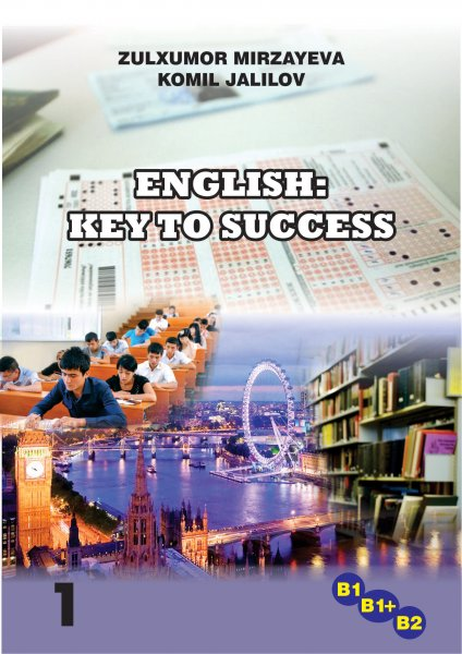 """English: Key to Success"" cover page"